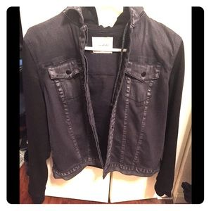 Small Black Denim Jacket - Brand: Unpublished